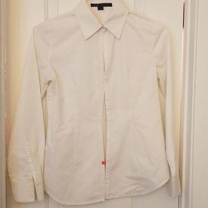Express Design Studio Fitted Button Down Shirt
